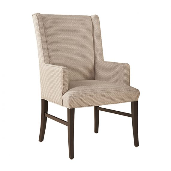 0441 Sienna Parson Wing Arm Dining Chair