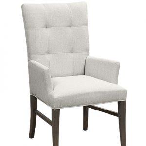 0660-Capri-Parson-Arm-Dining-Chair