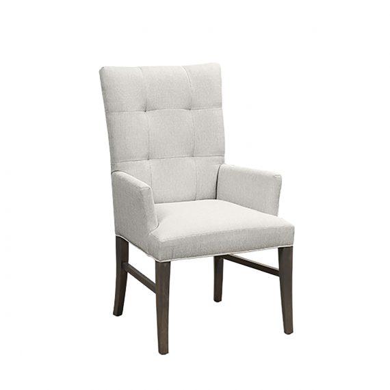 0660 Capri Parson Arm Dining Chair