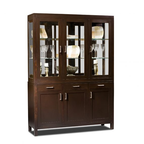 10006 & 10666 Benjamin Large Display Cabinet