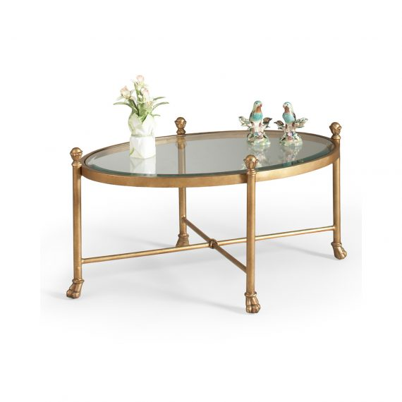 380087 Gorden Oval Cocktail Table