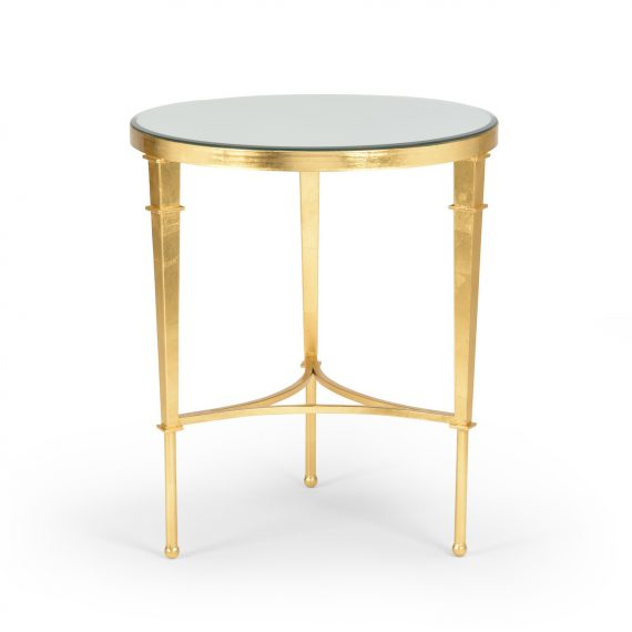 381864 Round Regent Table Gold