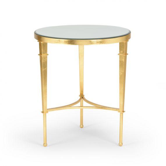 381864 Round Regent Table Gold