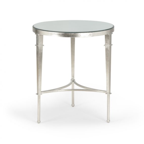 381865 Round Regent Table Silver