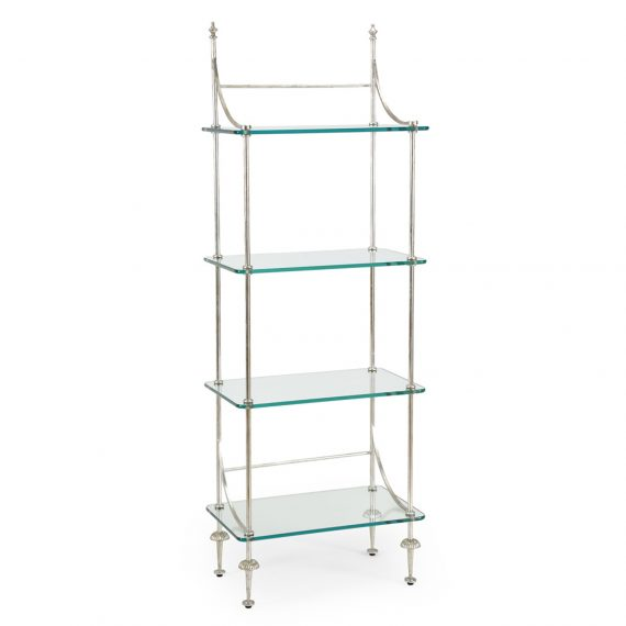 381992 Coleman Etagere Silver