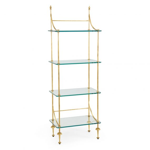 381993 Coleman Etagere Gold