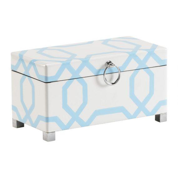 382072 Small White & Blue Box