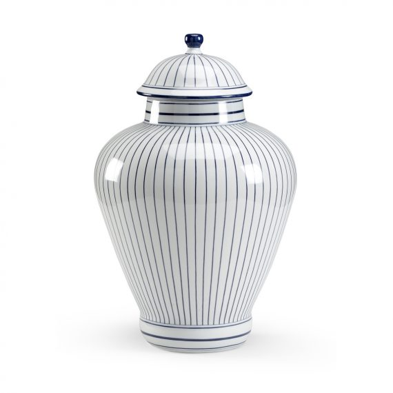 382130 Castle Large Blue Urn