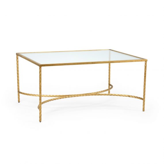 382177 Rope Cocktail Table