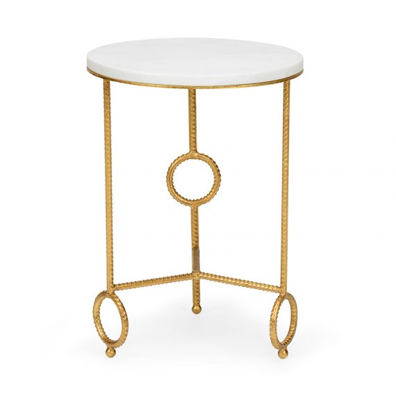 383176 Yonkers Side Table Marble