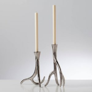 Antler-Taper-Candle-Holder