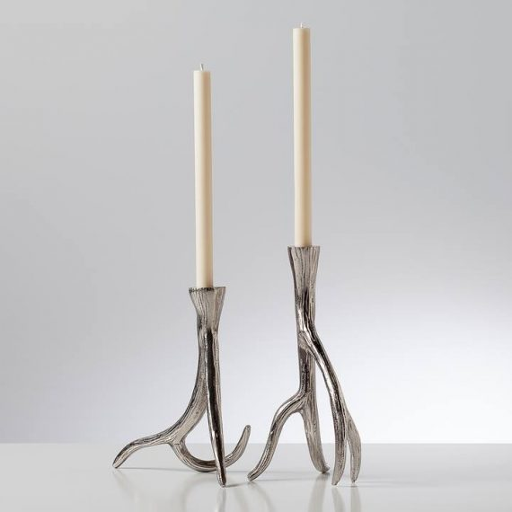 Antler-Taper-Candle-Holder