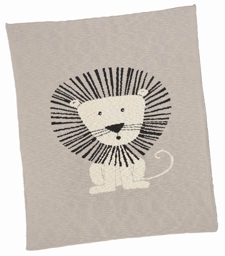 Lion Cotton Baby Blanket