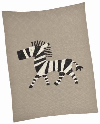 Zebra Cotton Baby Blanket