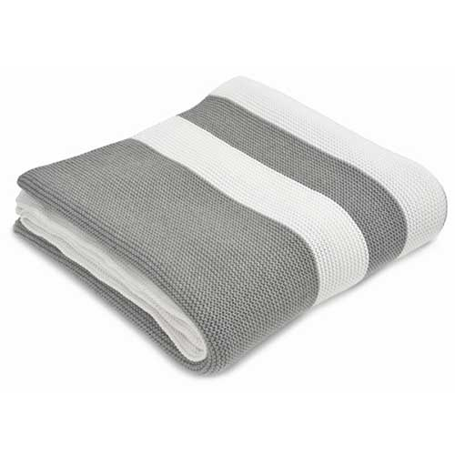 Hudson-Grey-White-Multi-Stripe-Cotton-Throw