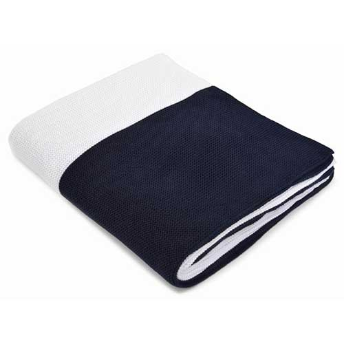 Liam-Navy_White-Cotton-Throw