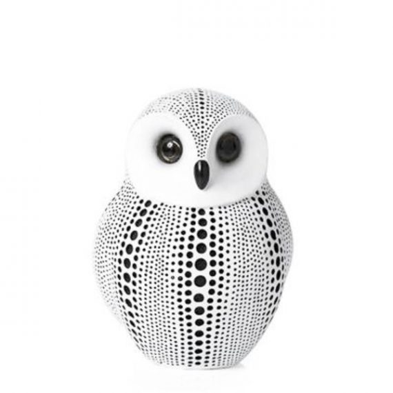 Debossed white owl – TT