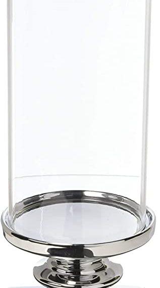 Fino tall pedestal hurricane candle holder – TT