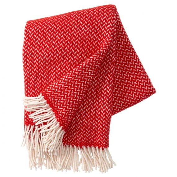 Polka Red Blanket