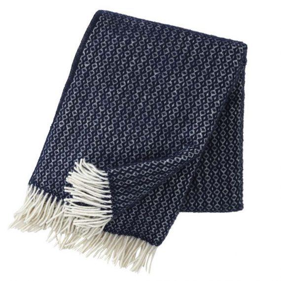 Rumba Navy Blue Blanket