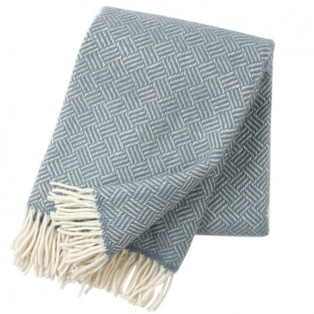 Samba Lead Grey Wool Blanket