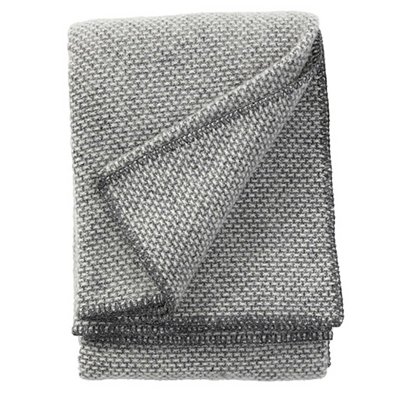Domino Throw Blanket Dark Grey Cameo Collection