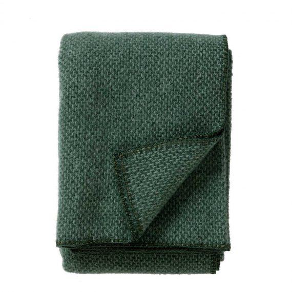 Domino-Green-Throw-Blanket