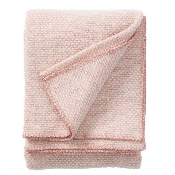 Domino-Pink-Throw-Blanket
