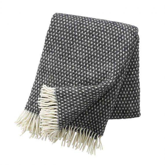 Knut-Dark-Grey-Throw-Blanket