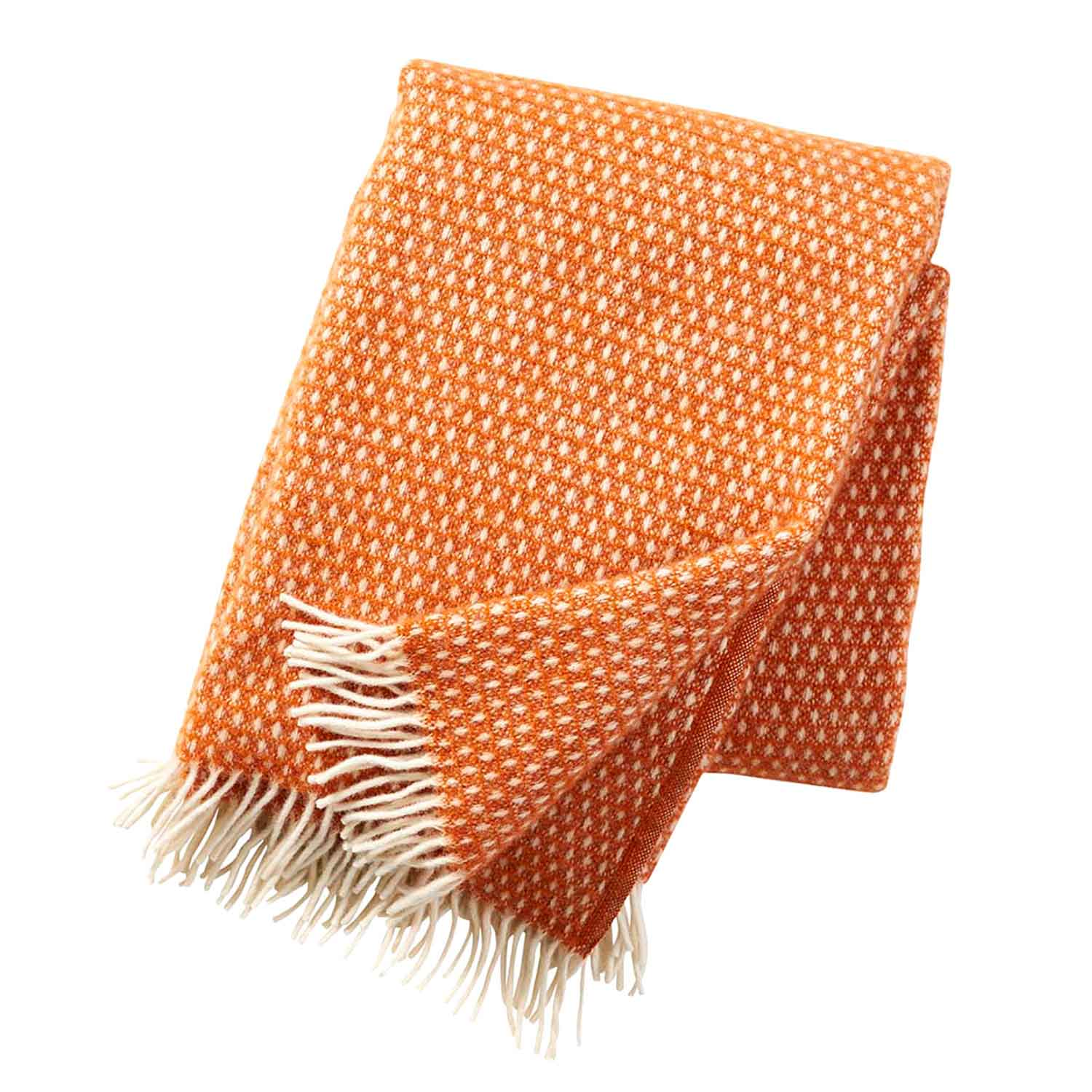 Knut Throw Blanket Orange Cameo Collection
