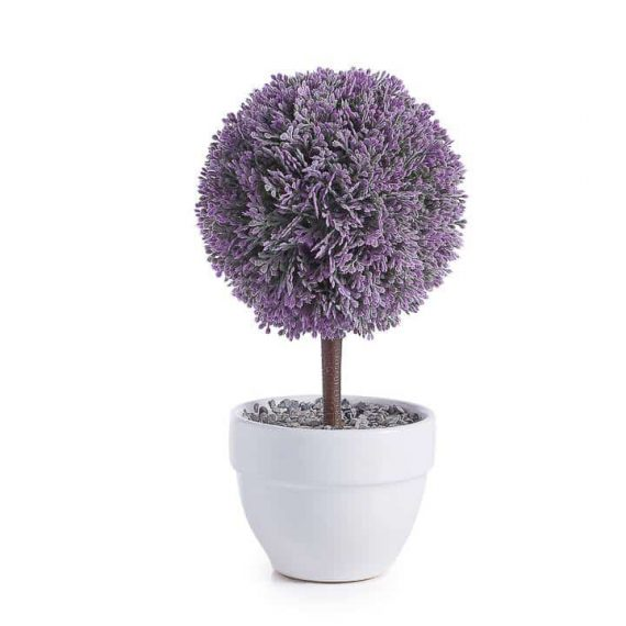 Lavender Ball Jardin 10 Potted Topiary