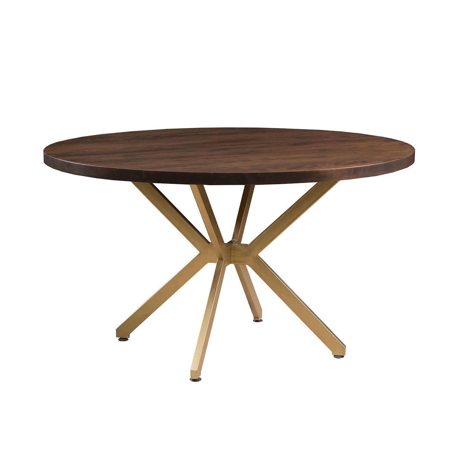 Neptune Coffee Table With Storage Ottomans: Neptune Round Dining Table