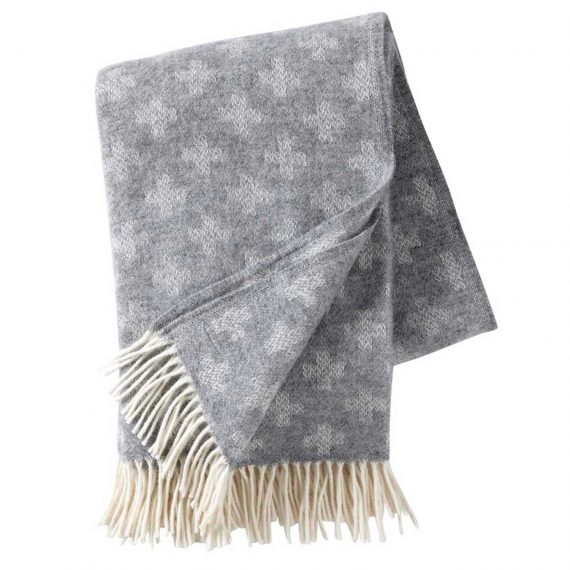 Plus-Light-Grey-Throw-Blanket