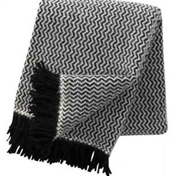 Tango-Black-Throw-Blanket