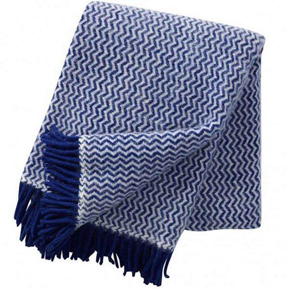 Tango-Blue-Throw-Blanket