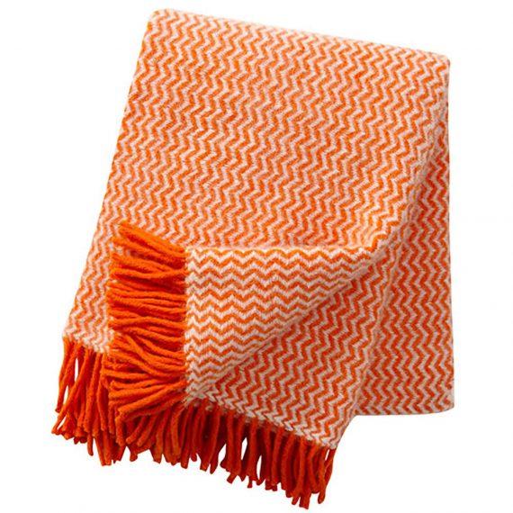 Tango-Orange-Throw-Blanket