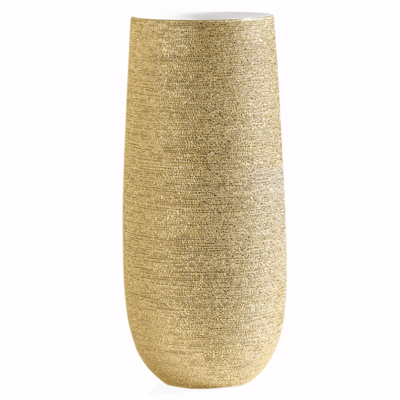 Brava Gold Spun Vase 14.5