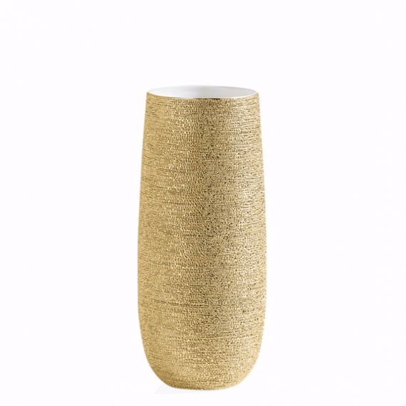 Brava Gold Spun Vase