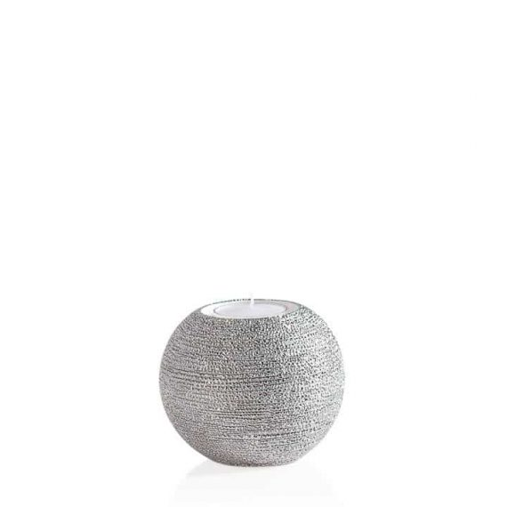 Brava Silver Spun Tealight Holder