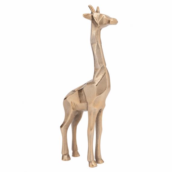 Giraffe Decorative Statue 15 Gold