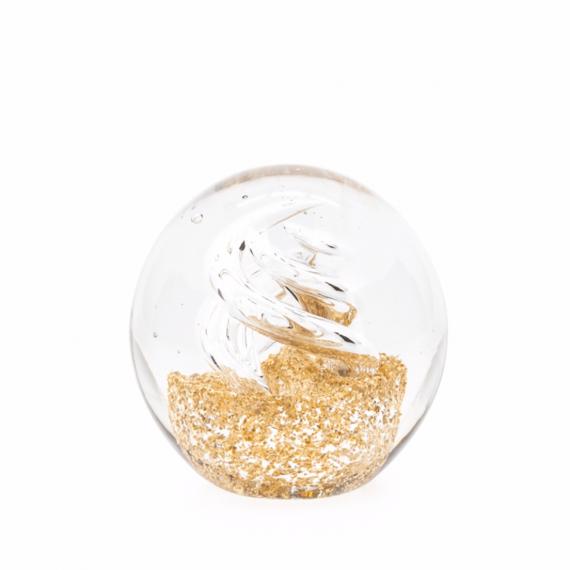 Glitter Glass Ball – Swirl
