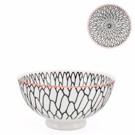 Kiri Medium Bowl – Dahlia