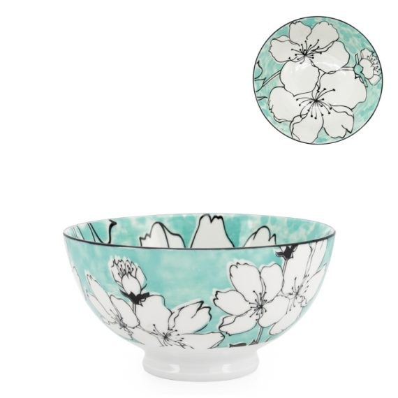 Kiri Medium Bowl – Sakura Bloom