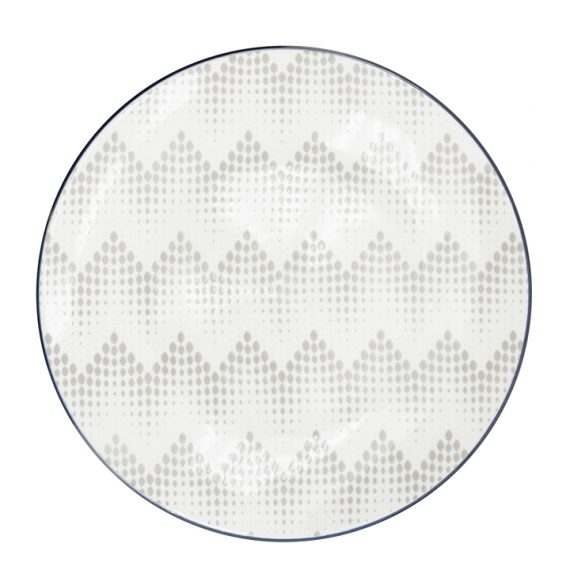 Kiri Side Plate – Graphic Dots