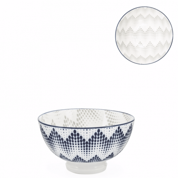 Kiri Small Bowl – Graphic Dots