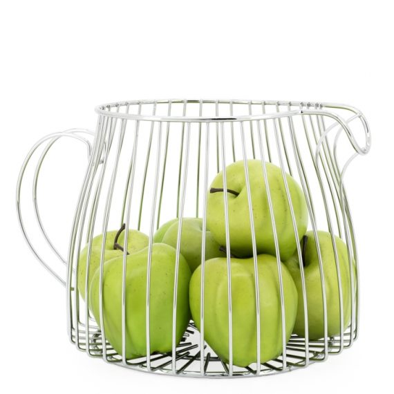 Wire Pitcher Fruit Basket