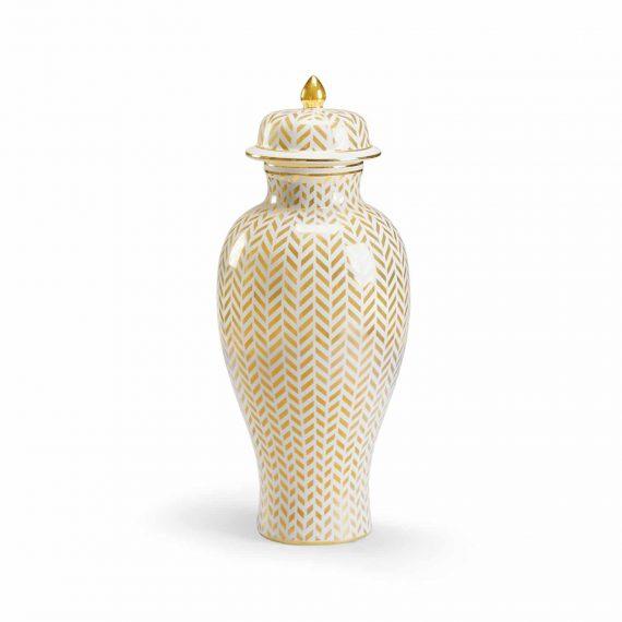 383558-Herringbone-Vase-Gold
